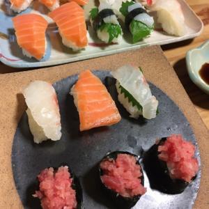お寿司屋さんごっこ