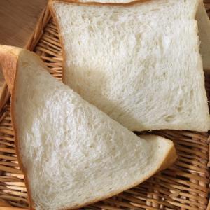 ふにゃっとなった食パン