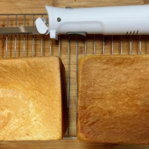 パン切り電動包丁とふわふわ食パン