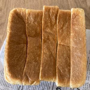 ふわふわ食パンと晩ご飯