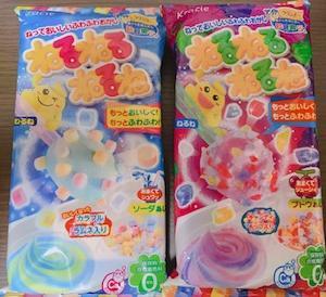 おとなだって、嗜んじゃうゾ☆知育菓子、の巻。