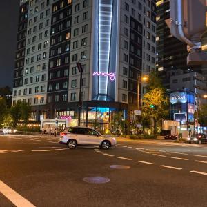 9月1日OPEN モクシー大阪新梅田に宿泊してきた。