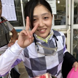 【号外】佐々木世麗騎手、自身初の一日3勝の固め勝ち!