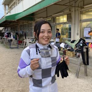園田競馬・開催日誌 2021年6月25日 佐々木世麗騎手が2度目の一日3勝で通算20勝目!重賞での騎乗が可能に♪