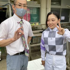 園田競馬・開催日誌 2021年7月14日 佐々木世麗騎手がリーディングトップ10入り!