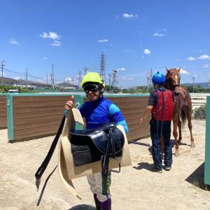 園田競馬・開催日誌 2021年7月21日 梅雨が明けて猛暑日に…