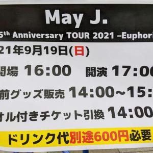 May J. 15th Anniversary Tour 2021 Euphoria 初日@大阪