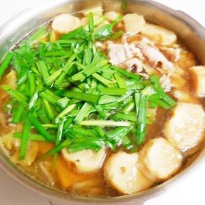 中華スープでおいしい中華風鍋の素♪