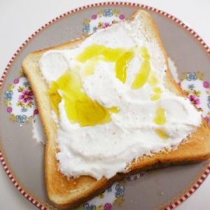 さっぱりおいしいトーストの食べ方♪