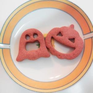 簡単サクサクハロウィンクッキー♪