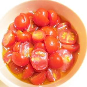 だし酢で簡単プチトマトのマリネ♪