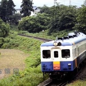 飯山線にてDD16白樺を追い回す