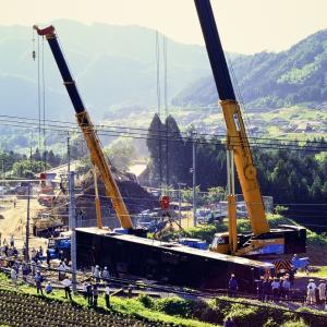 1997年6月29日 ~山陰線でコケた113系を撮る