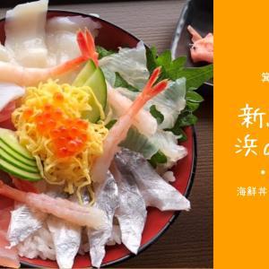 有田市「新鮮市場 浜のうたせ」に行ってきました!ボリュームたっぷりな海鮮丼も!