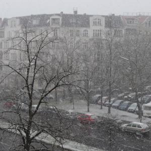幻の雪景色