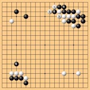 名人戦第2局1日目