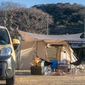2021年1月のキャンプ