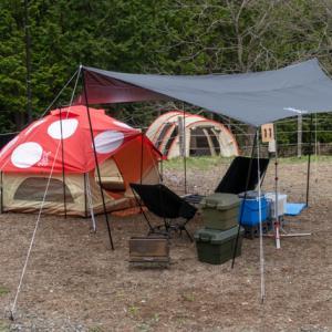 2021年4月のキャンプ