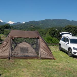 2021年7月のキャンプ
