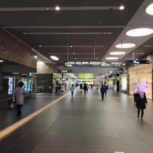 京都駅に人が戻って来ました。