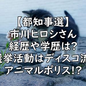 【都知事選】市川ヒロシ(浩司)の経歴や学歴は?wiki風プロフィールまとめ
