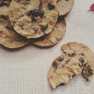 ドライフルーツとクルミのクッキー