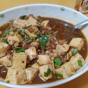 麻婆豆腐風の豆腐煮込みを作ってもらったよ