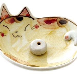 かわいらしい【猫や兎】の香立て 一覧