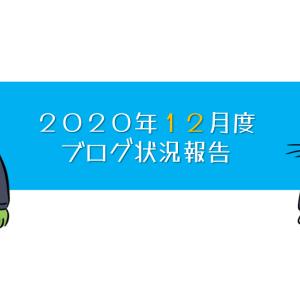【開設9ヶ月目】2020年12月度ブログ状況報告
