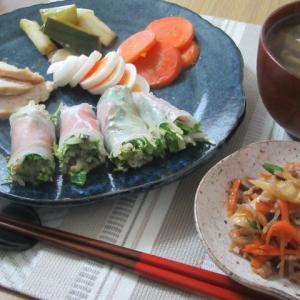 *おうちごはん*野菜たっぷり☆満腹ごはん~4月27日~