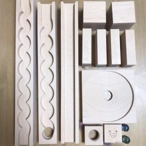 【知育玩具】小さな大工さん|積み木となみなみレールとうずまきボード