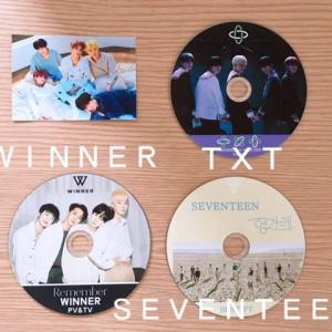 【kpop】WINNER/TXT/SEVENTEENの新しいDVDが届きました