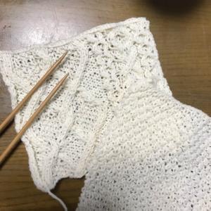 編み編み編み…