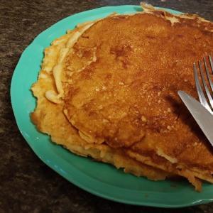 笑顔までとろけるパンケーキで、朝もおやつも笑顔に