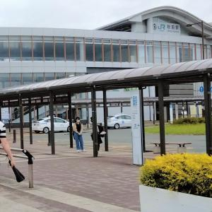 秋田駅西口 芝生広場 動画 2021年6月