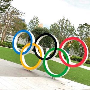オリンピック真っ只中