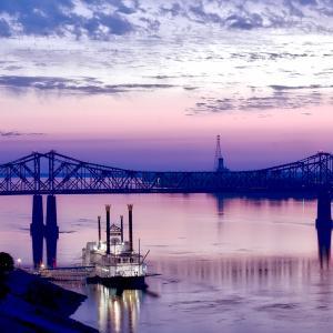 ミシシッピ川とブルース 「アメリカ横断バス一人旅 ニューオーリンズ最終日」