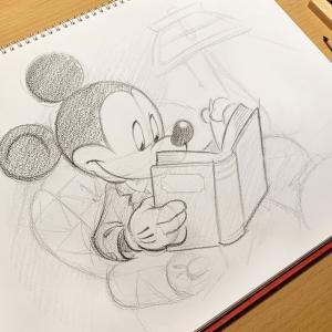 東京ディズニーリゾートの特別描き下ろしアート