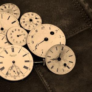 小学二年生(グナ兄)時計に苦しむ~どうしたら読めるようになるの~