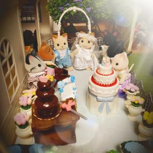 クリームネコの結婚式♫