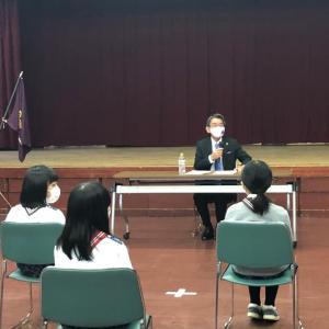 蝦名釧路市長からお話いただきました!【北海道第9団:釧路市】