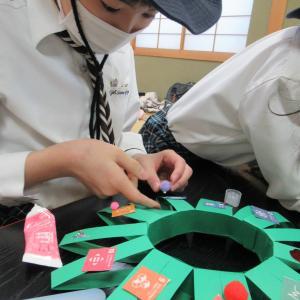 SDGsクリスマスリース☆【北海道第17団:札幌市北区】