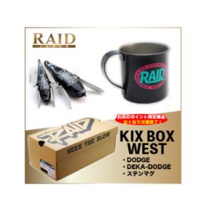 レイドジャパン KIX BOX(WEST)【数量限定販売・ルアーセットBOX】