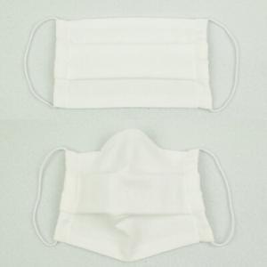 洗えるガーゼマスク(プリーツタイプ) 大人用 ふつうサイズ(2枚セット) 価格:990円 安心 安全 日本製