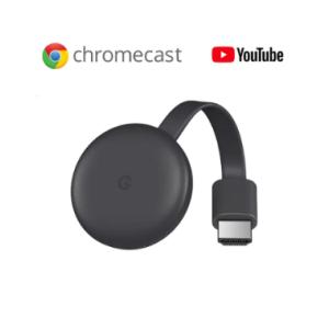 【新型 第3世代】グーグル クロームキャスト 3  チャコールグレー  価格:6138円(税込、送料無料)
