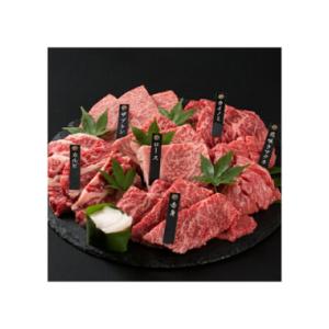 神戸牛 6点食べ比べ焼肉600g(3~4人前) 価格:8640円(税込、送料無料) 【神戸牛焼肉食べ比べセット】