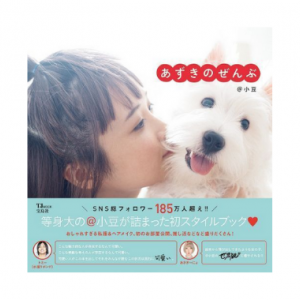 あずきのぜんぶ(TJMOOK)10代~20代を中心に絶大な人気を集めているクリエイター@小豆の初スタイルブック。