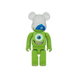 『間もなく販売終了~10月10日23時59分』BE@RBRICK MIKE 100% MONSTERS,INC.のキャラクターがベアブリックに!!