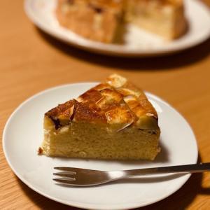 カリッと、そしてフワッと 〜サツマイモケーキ〜