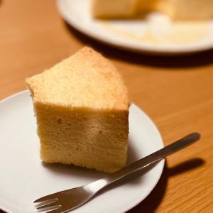 穴が開いてるから 0 kcal 〜自宅で手作りシフォンケーキ〜